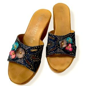 Patrizia Wedge Shoes Made in Italy. Size 7.5
